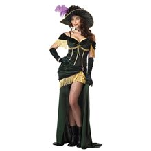 Picture of Saloon Madame Adult Womens Costume