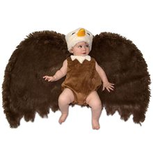 Picture of Bald Eagle Newborn Costume with Swaddle Wings
