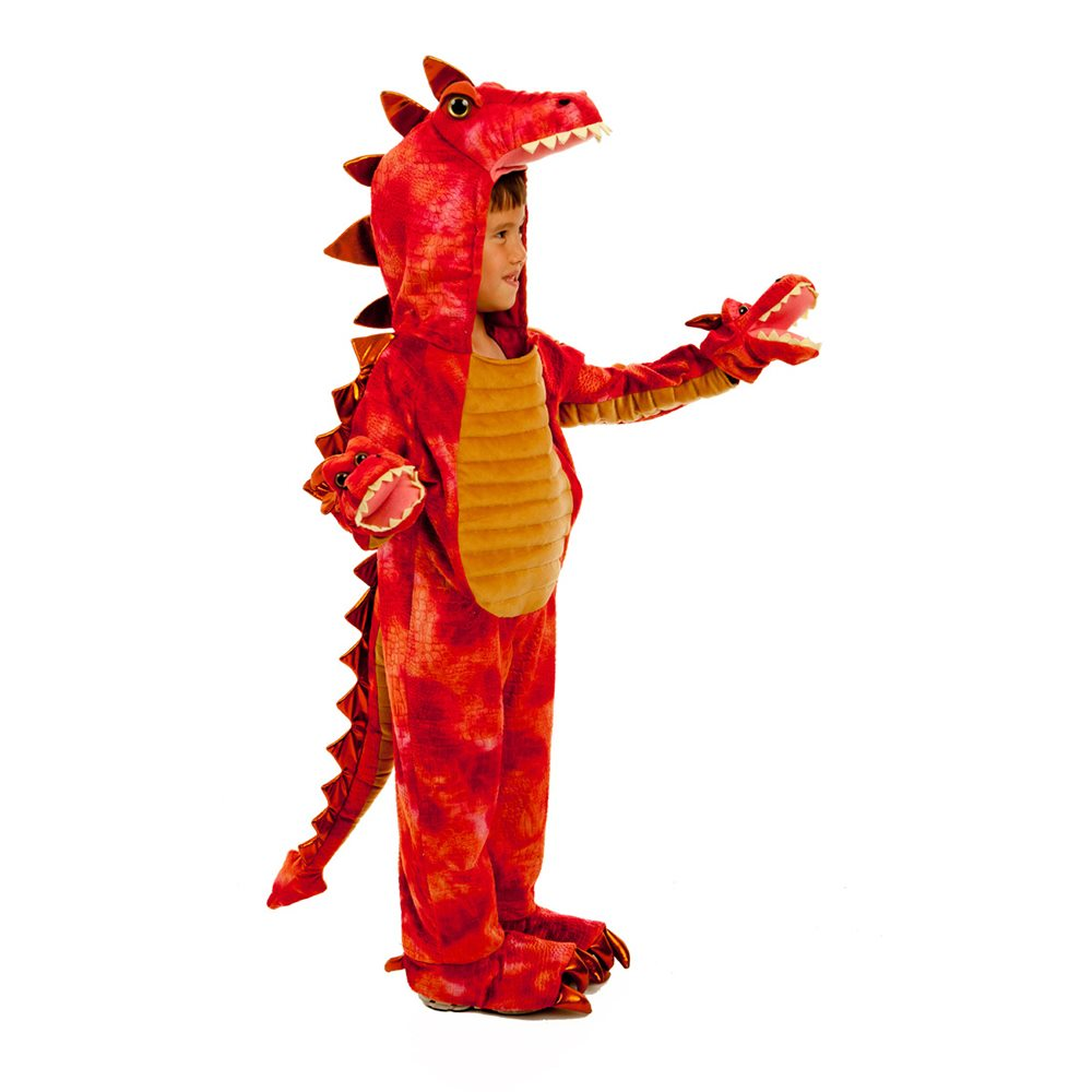 Picture of Hydra the 3-Headed Dragon Child Costume