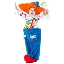 Picture of Colorful Circus Clown Child Costume