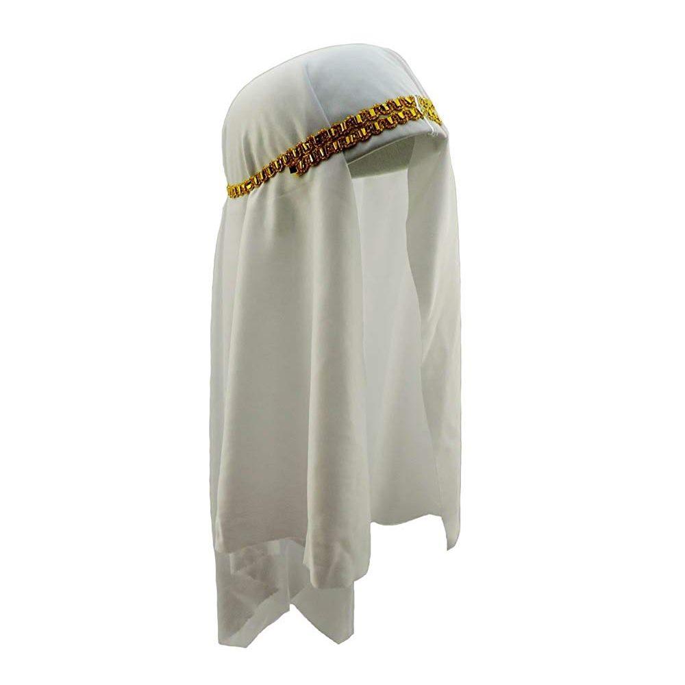 Picture of Arabian White Sheik Headpiece