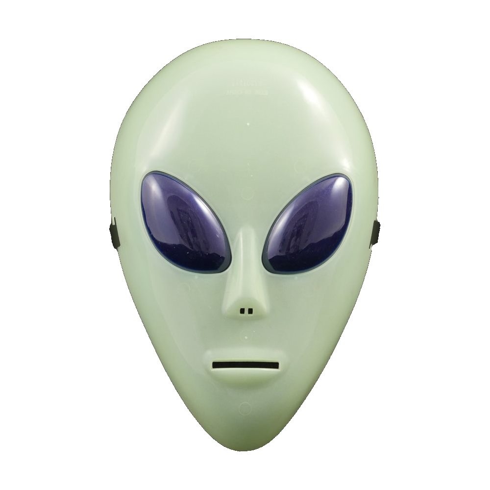 Picture of Neon Alien Mask