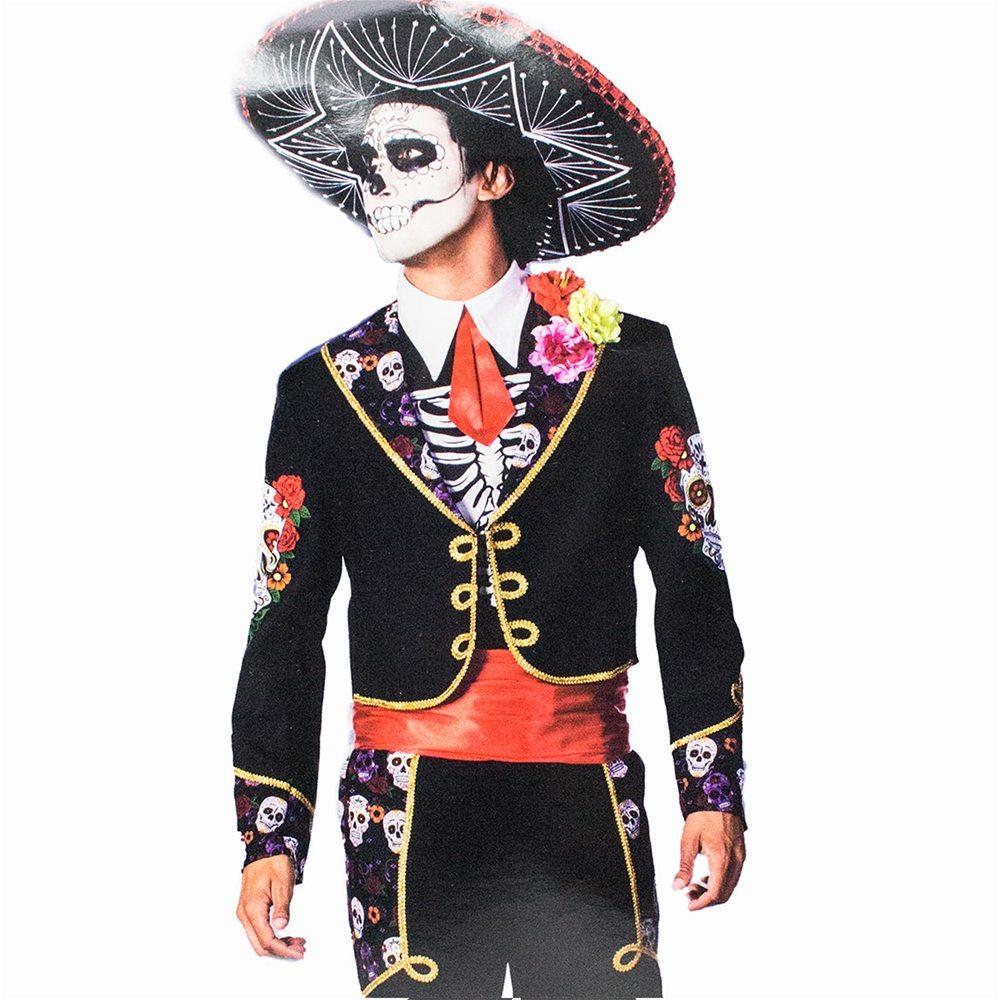 Picture of Sugar Skull Caballero Adult Mens Costume