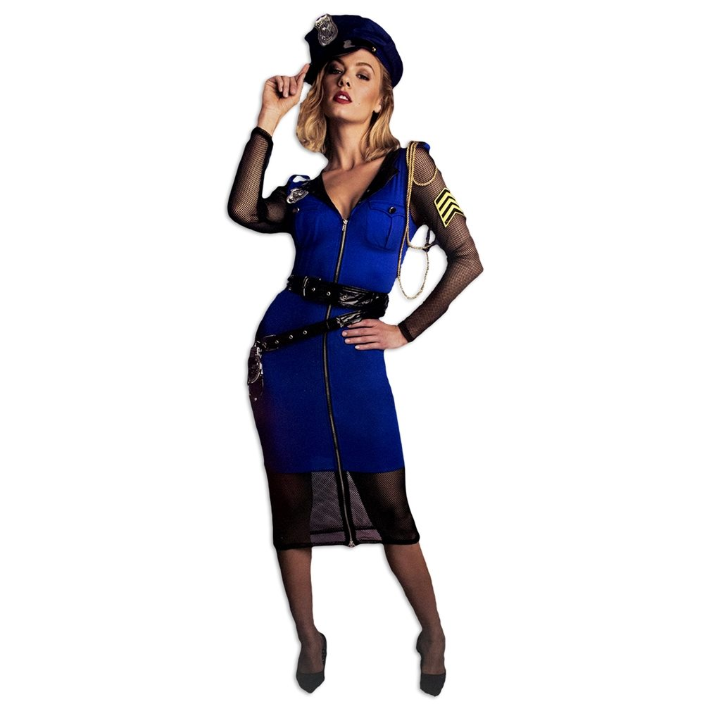 Picture of Miss Officer Love Adult Womens Costume