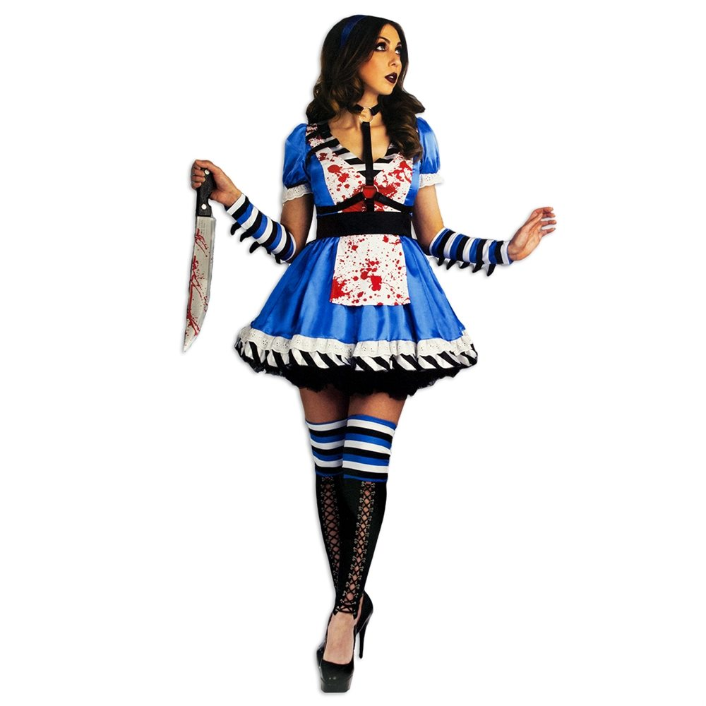 Picture of Alice Gone Mad Adult Womens Costume