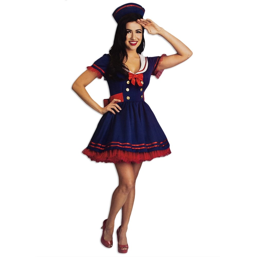 Picture of Harbor Sailor Cutie Adult Womens Costume
