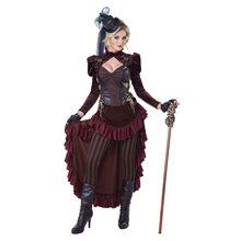 Picture of Victorian Steampunk Adult Womens Costume