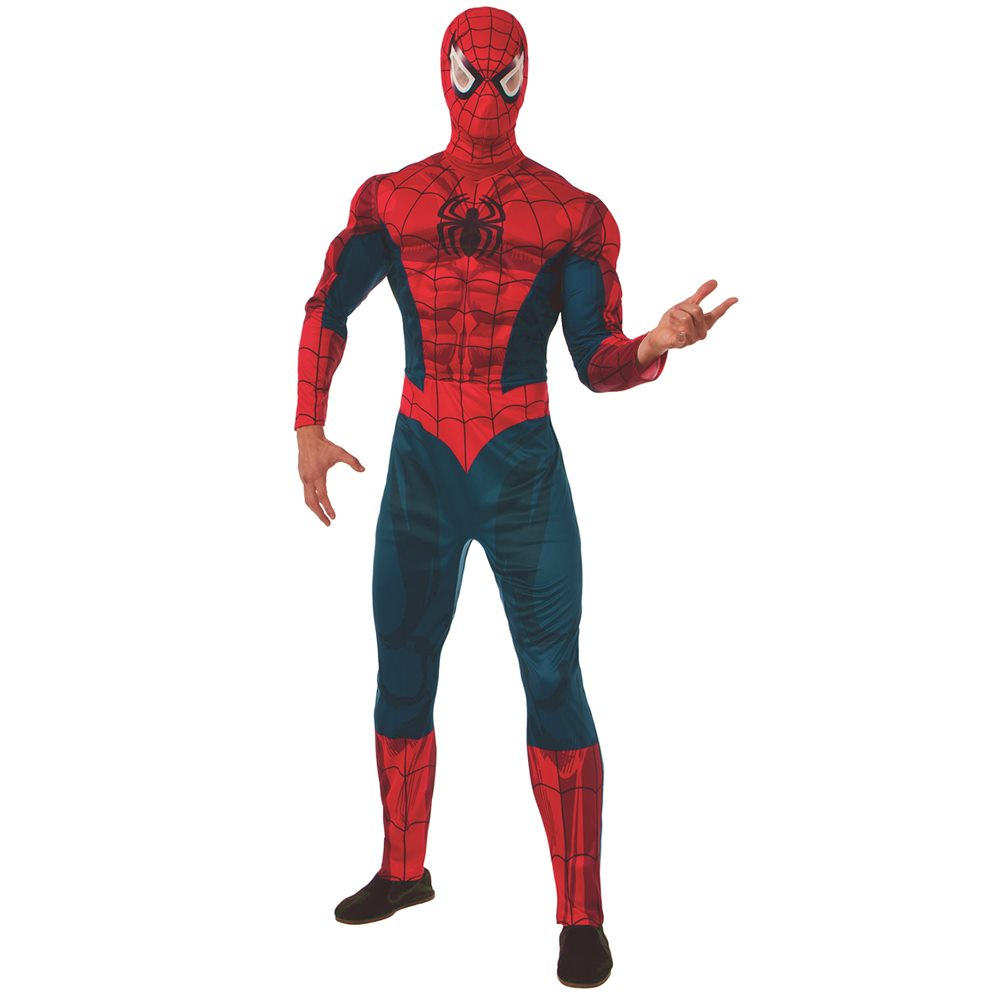 Picture of Spider-Man Deluxe Adult Mens Costume
