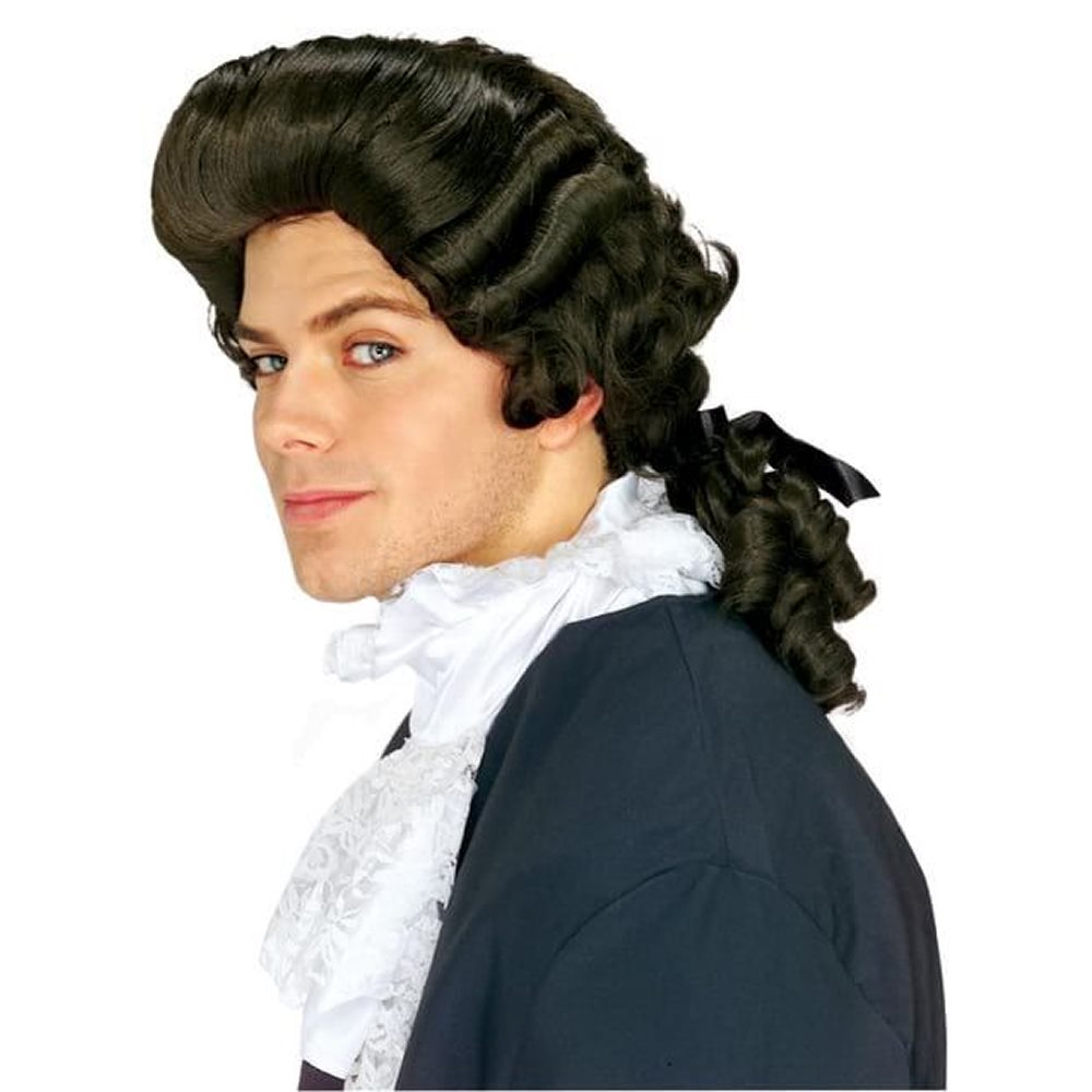Picture of Brown Colonial Man Wig