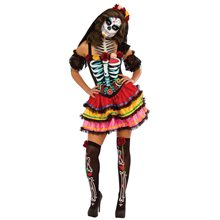 Picture of Senorita Muerta Adult Womens Costume