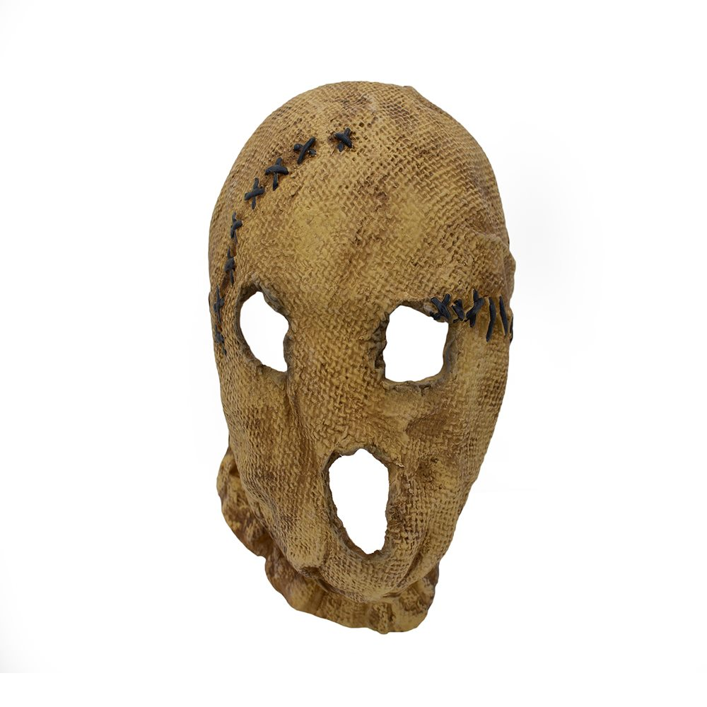 Picture of Stitched Scarecrow Latex Mask
