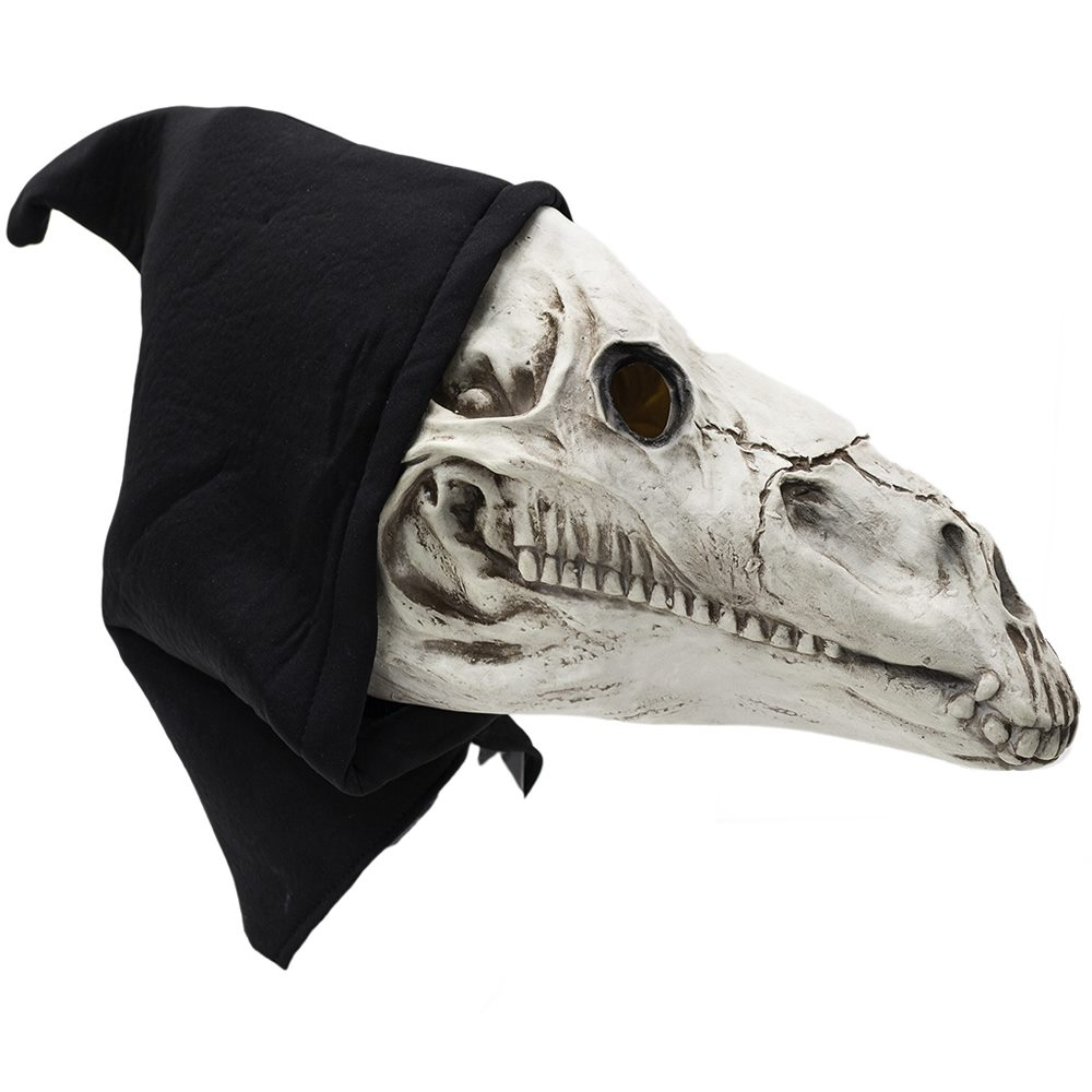 Picture of Horse Skull Latex Mask
