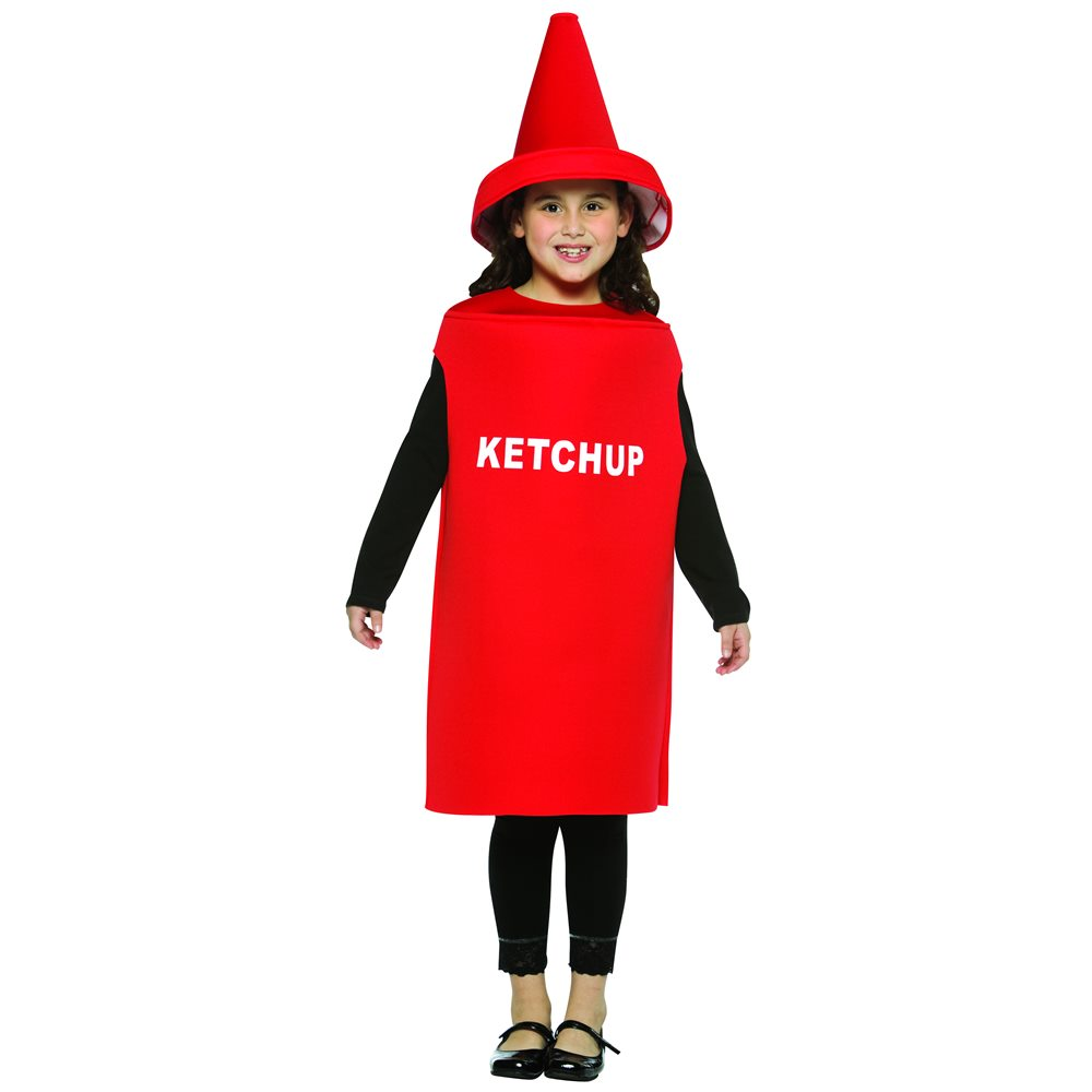 Picture of Ketchup Bottle Child Costume