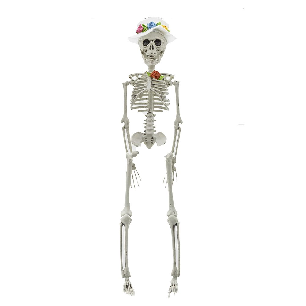 Picture of Mr. Flowers Skeleton Groom 16in