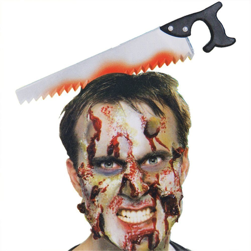 Picture of Bloody Saw in the Head Headband