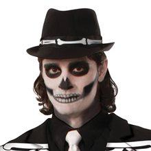 Picture of Bone-Accented Black Fedora