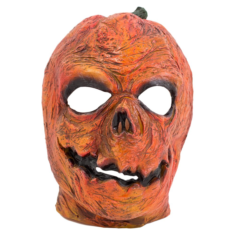 Picture of Pumpkin Man Latex Mask