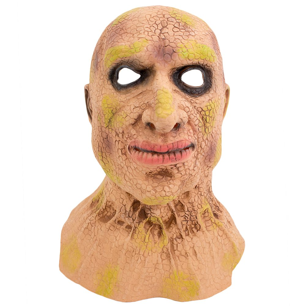 Picture of Diseased Man Latex Mask