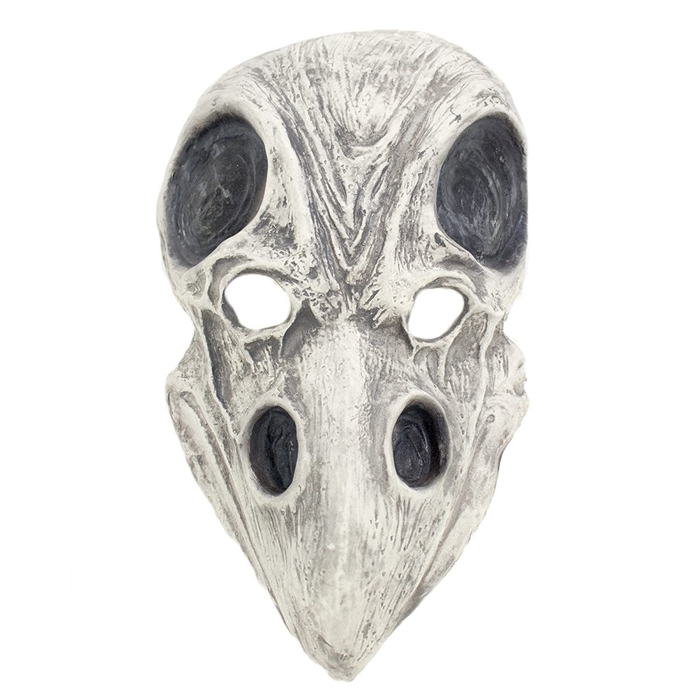 Picture of Crow Skull Latex Mask