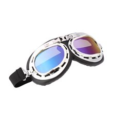 Picture of Silver Aviator Goggles