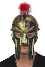 Picture of Roman Gladiator Gold Helmet