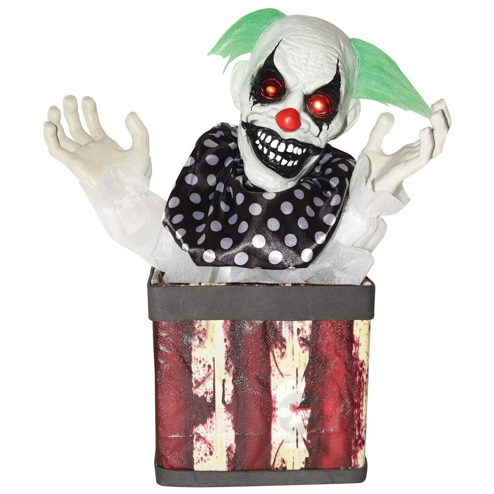Picture of Animated Creepy Clown in a Box