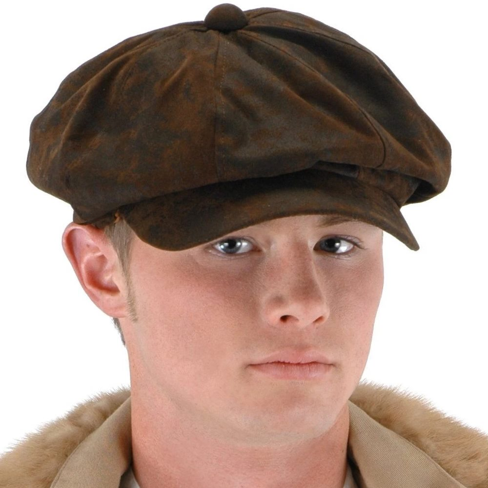 Picture of Steampunk Driver Newsboy Hat