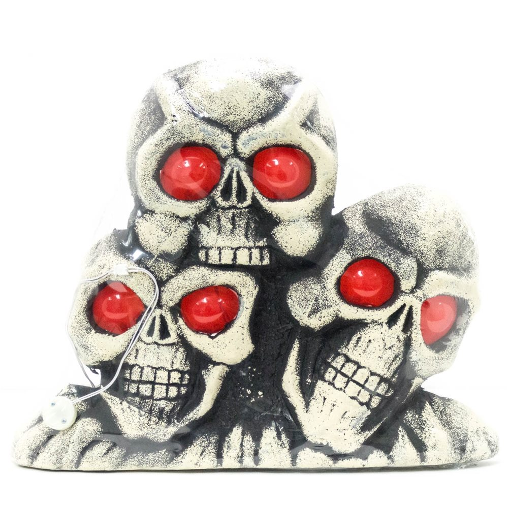 Picture of Light-Up Skull Pyramid