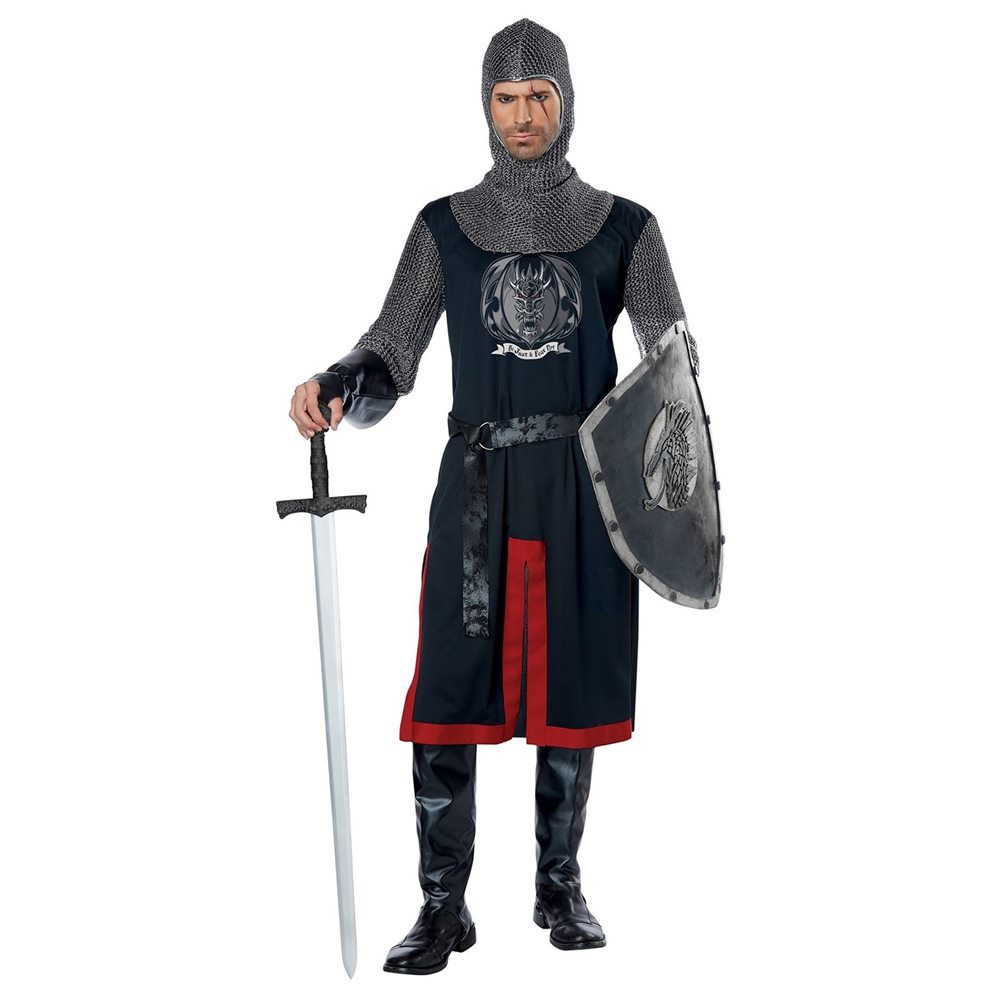 Picture of Dragon Knight Adult Mens Costume