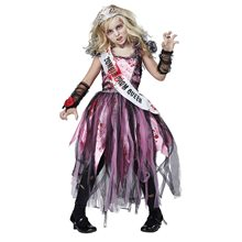Picture of Zombie Prom Queen Child Costume