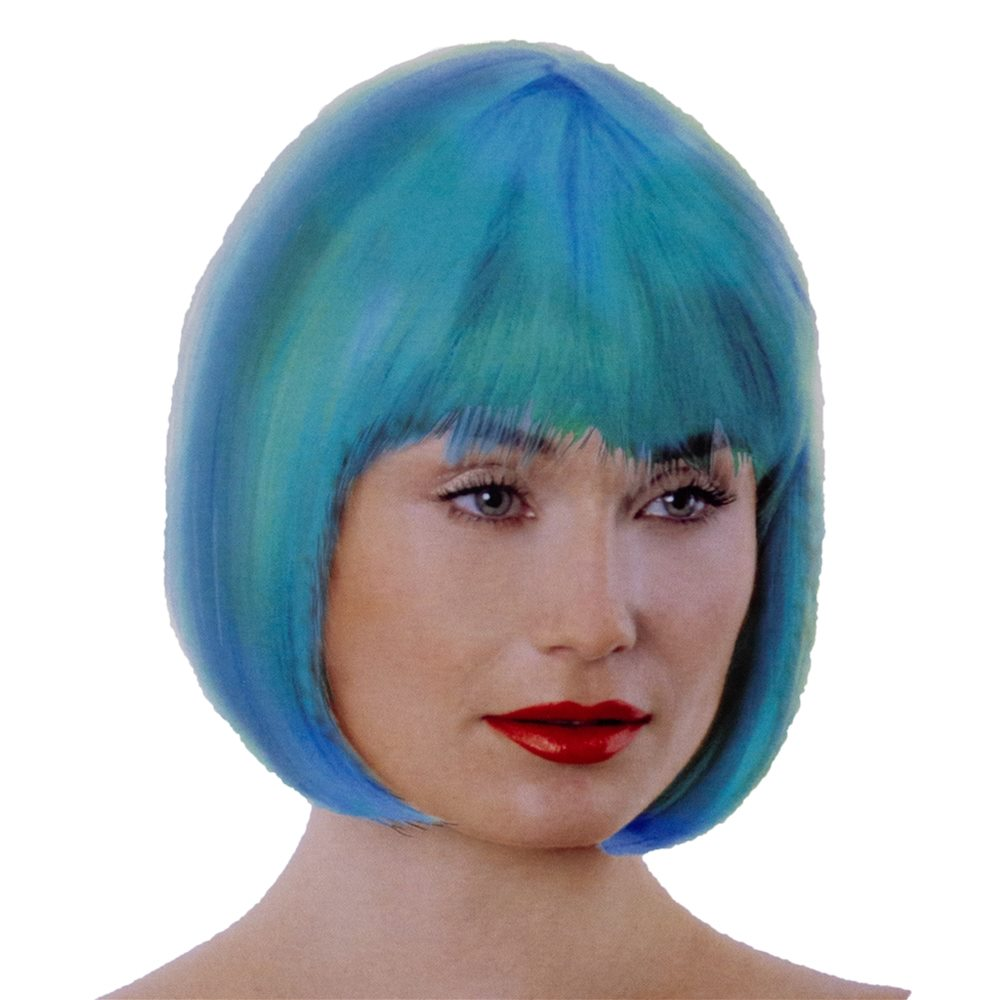 Picture of Teal Bob Wig
