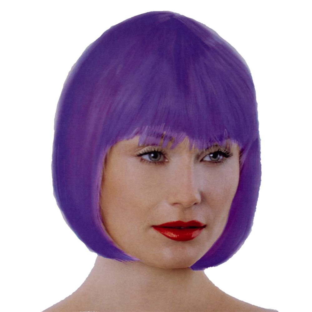 Picture of Purple Bob Wig