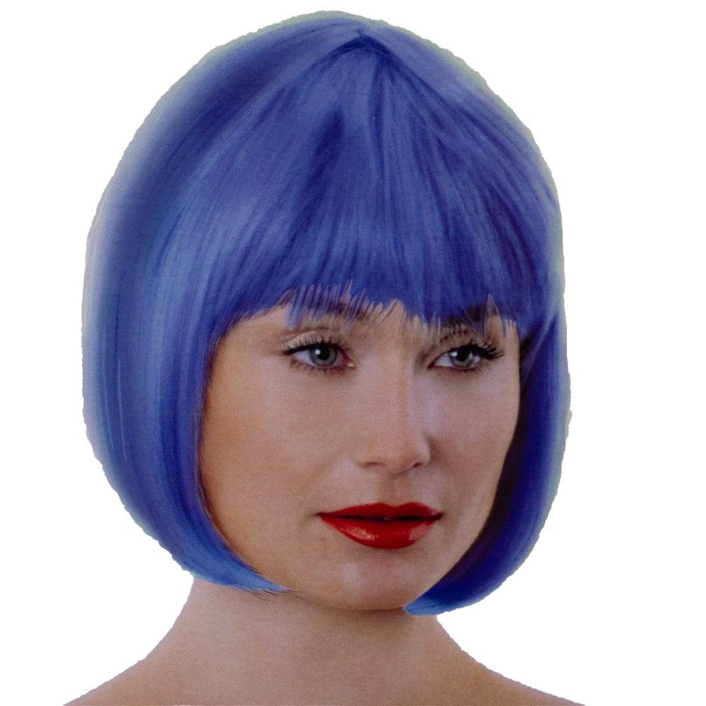 Picture of Blue Bob Wig