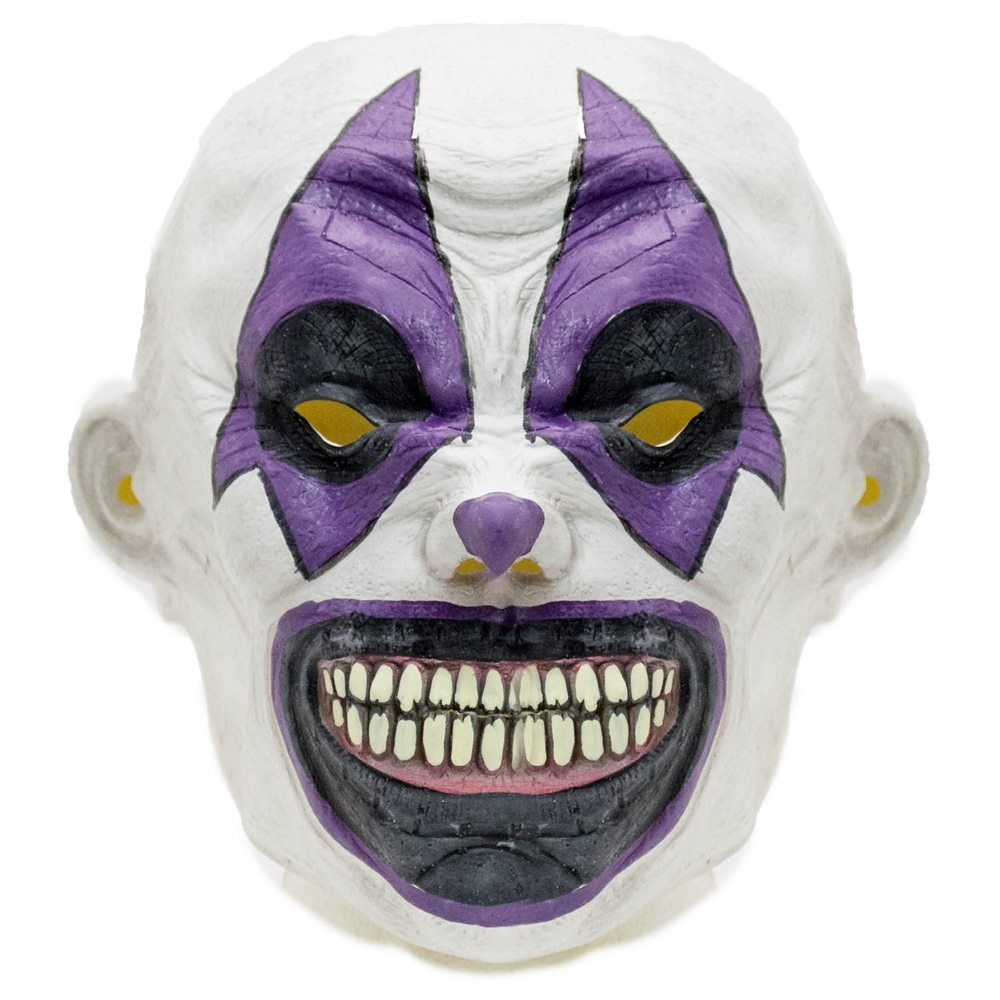 Picture of Evil Grin Clown Latex Mask