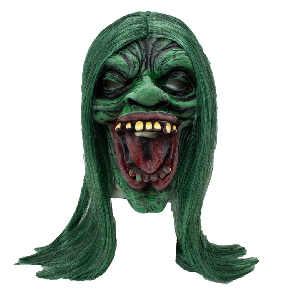 Picture of Green Ghoul Latex Mask
