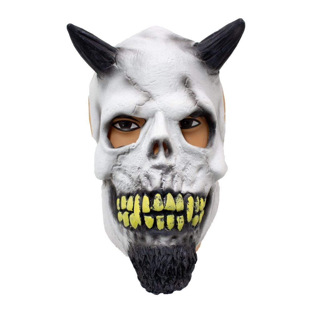 Picture of Demon Skull Latex Mask