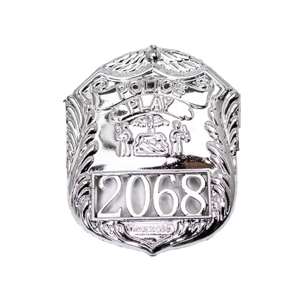 Picture of Silver Police Officer Badge