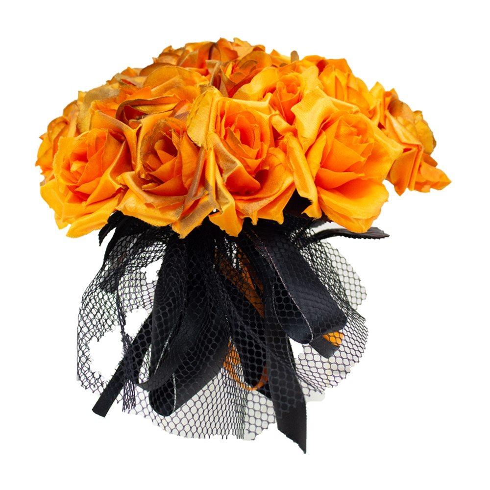 Picture of Orange Rose Bouquet