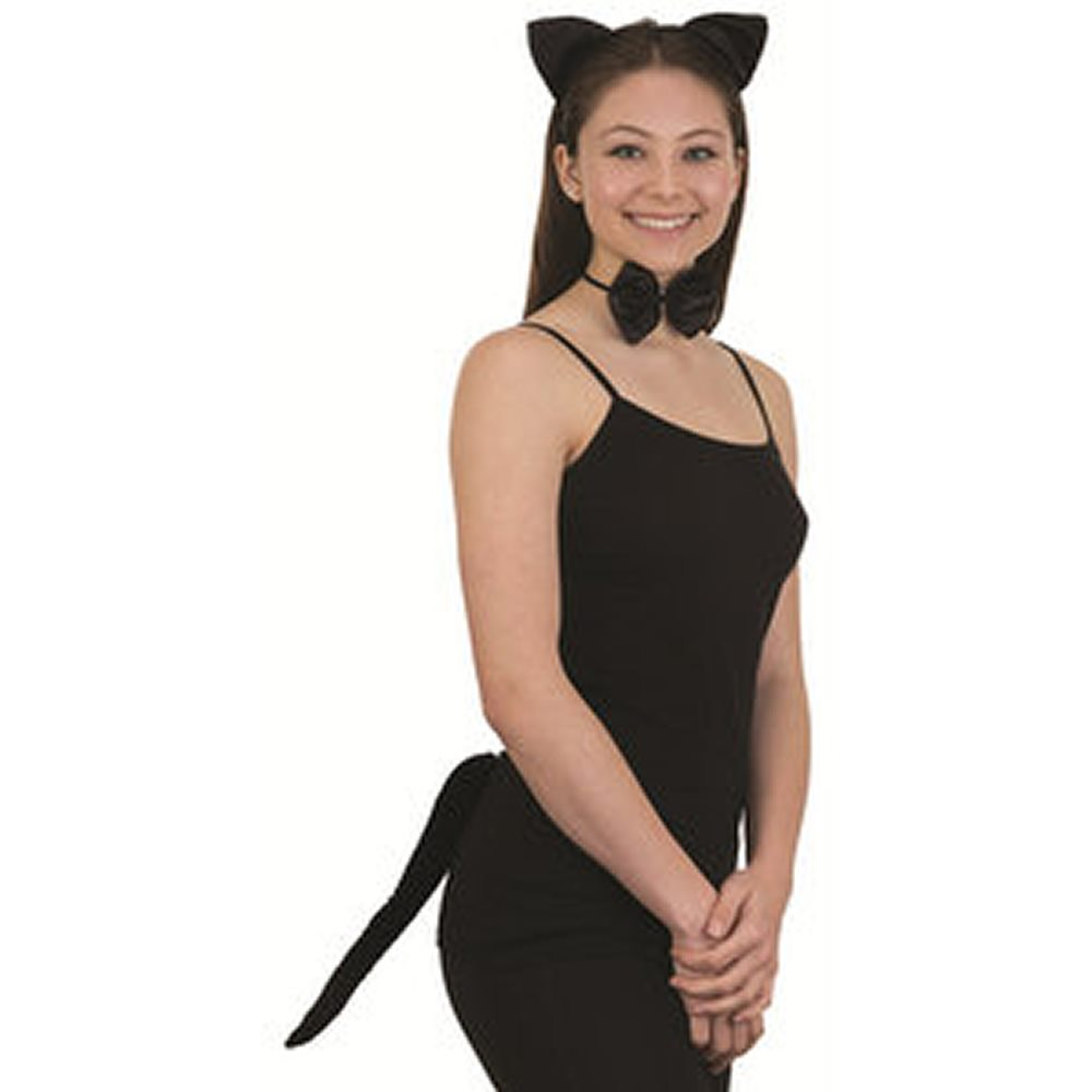 Picture of Black Cat Accessory Set
