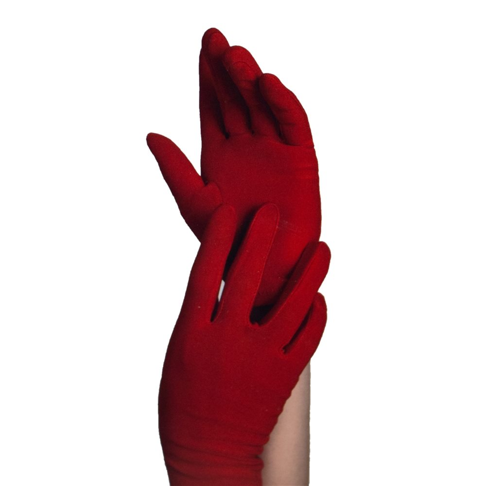 Picture of Red Short Gloves