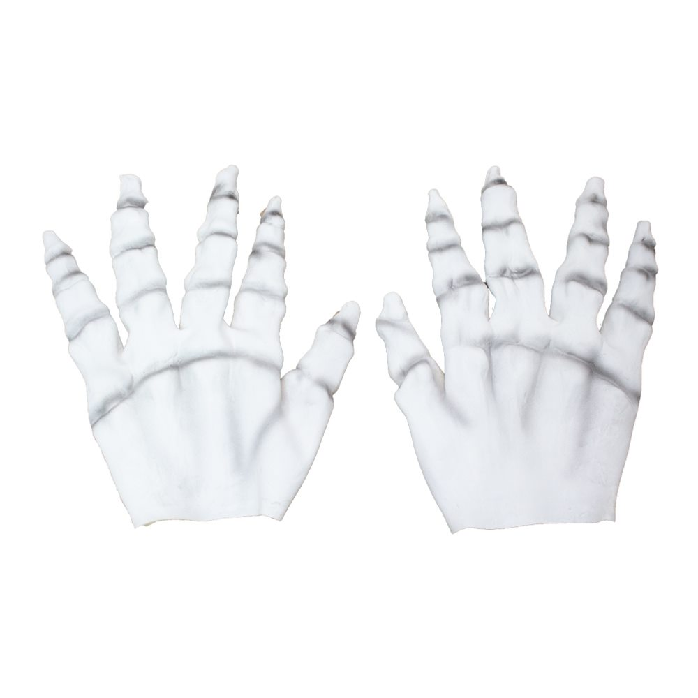 Picture of White Skeleton Latex Hands