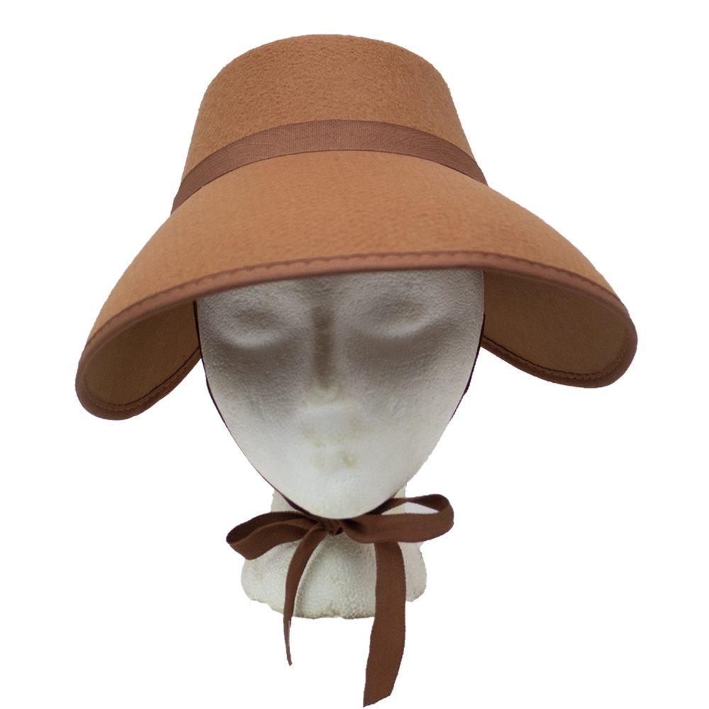 Picture of Brown Bonnet Hat