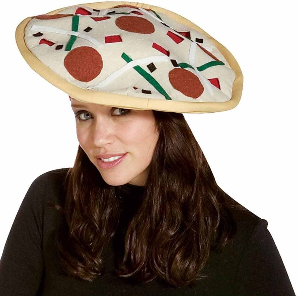 Picture of Pizza Plush Hat