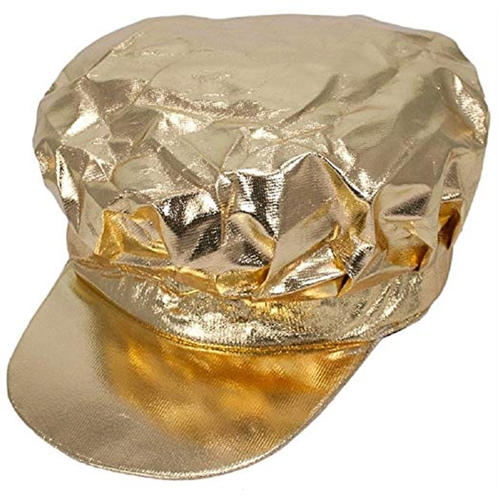 Picture of Gold Newsboy Hat