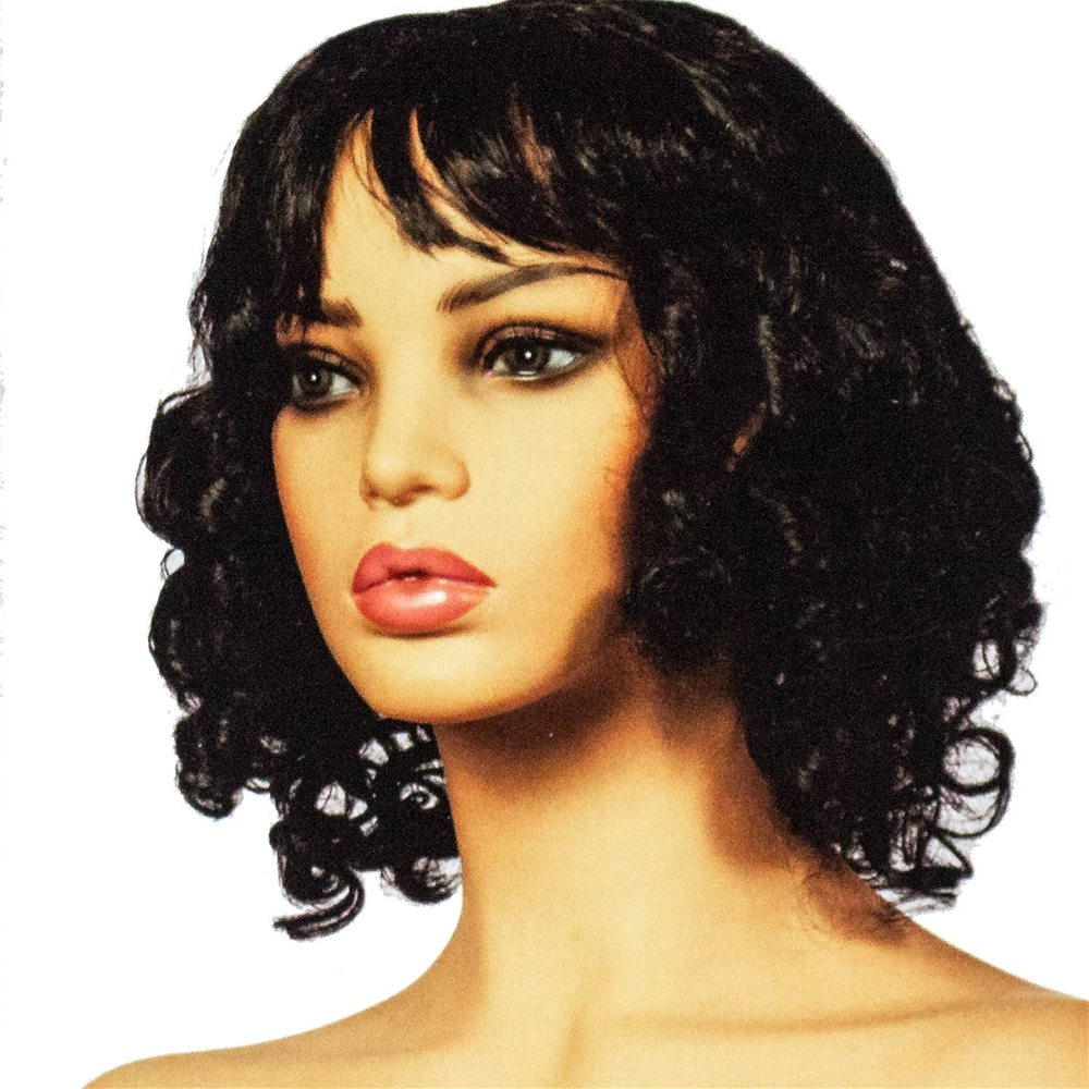 Picture of Black Short & Curly Wig