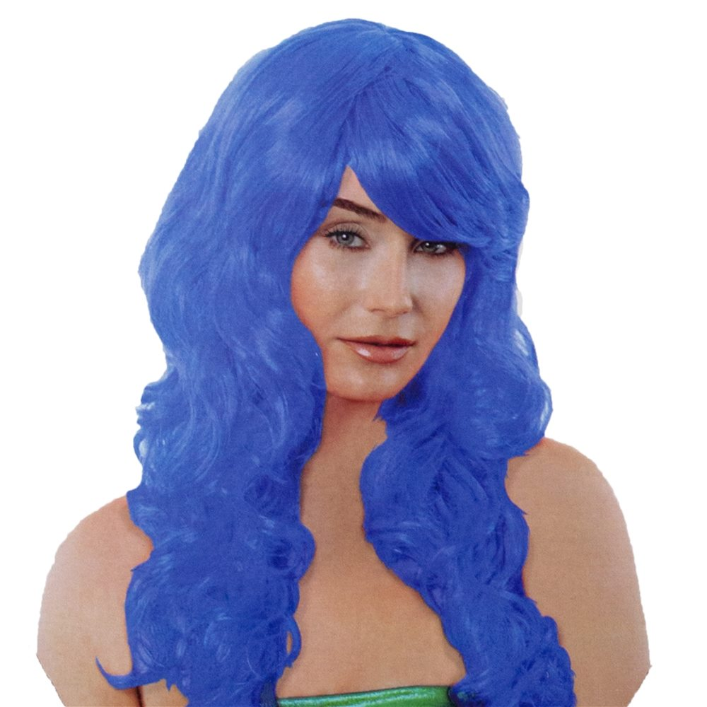 Picture of Blue Mermaid Wig