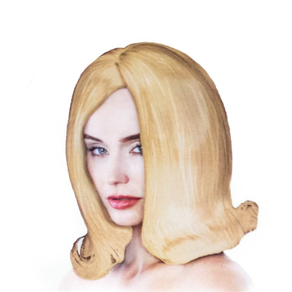 Picture of Honey Blonde Flipped Bob Wig