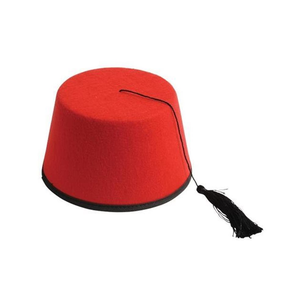 Picture of Red Fez Hat