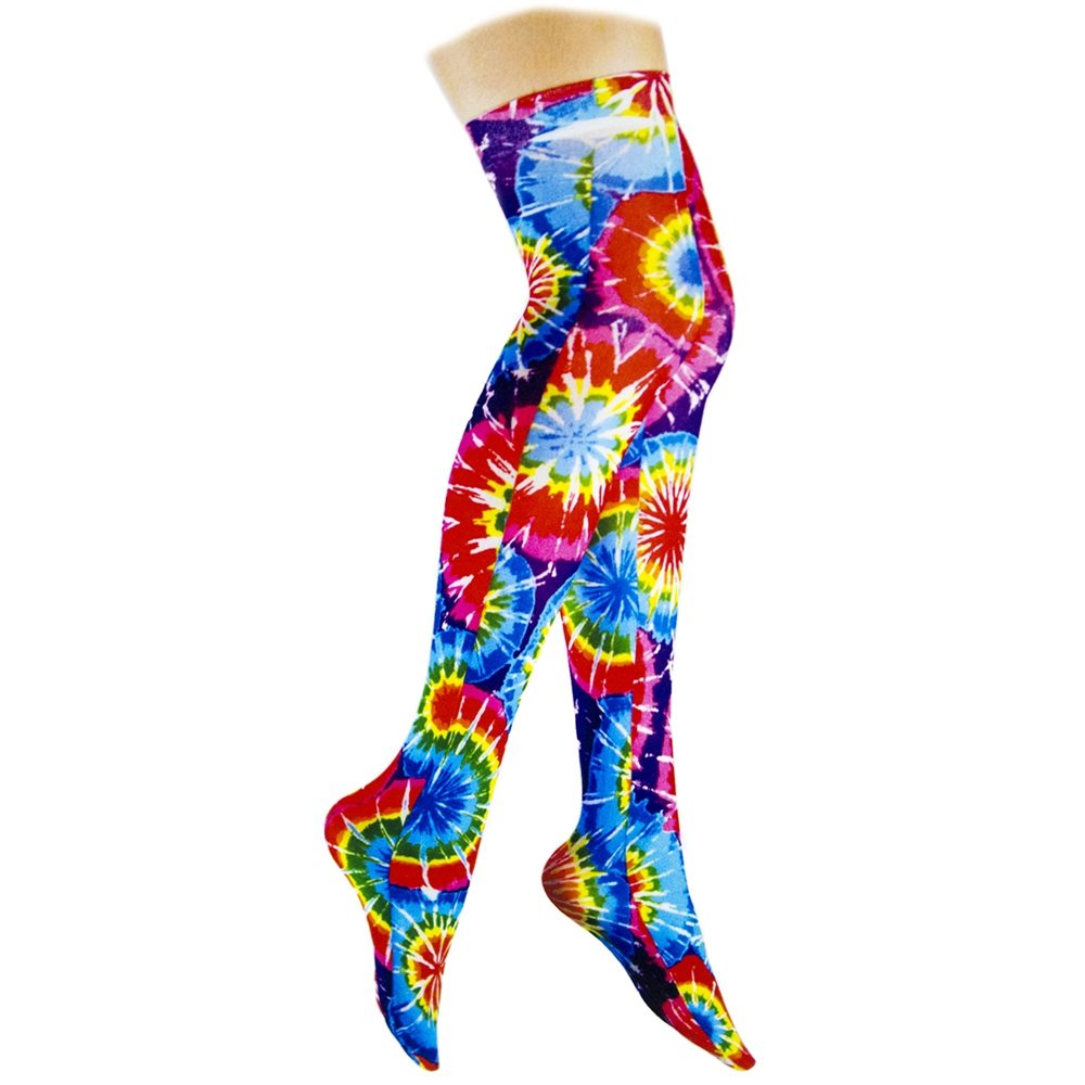 Picture of Tie Dye Thigh Highs