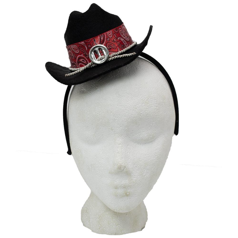 Picture of Cowboy Mini Hat Headband